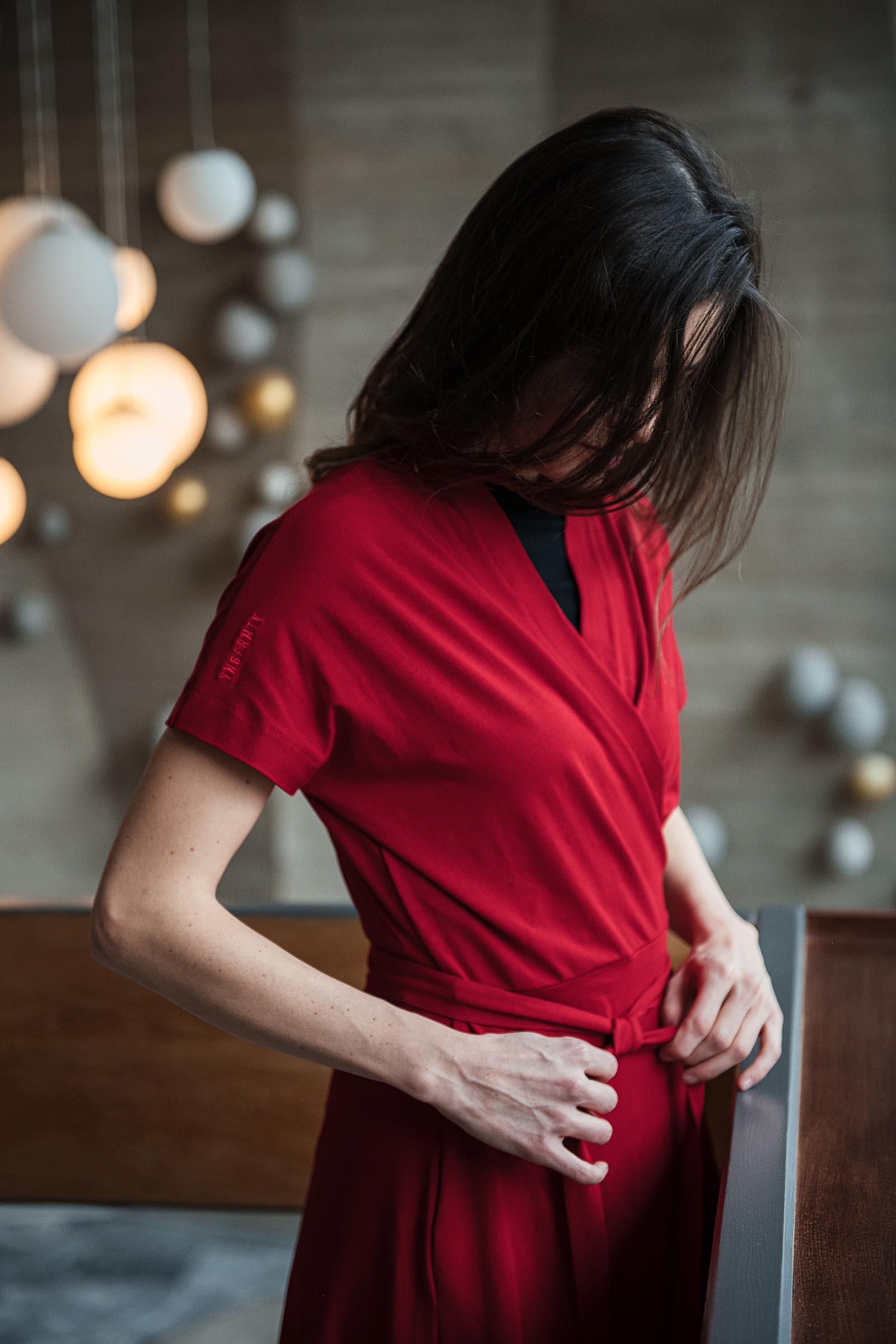 Dresses and skirts Aline červená