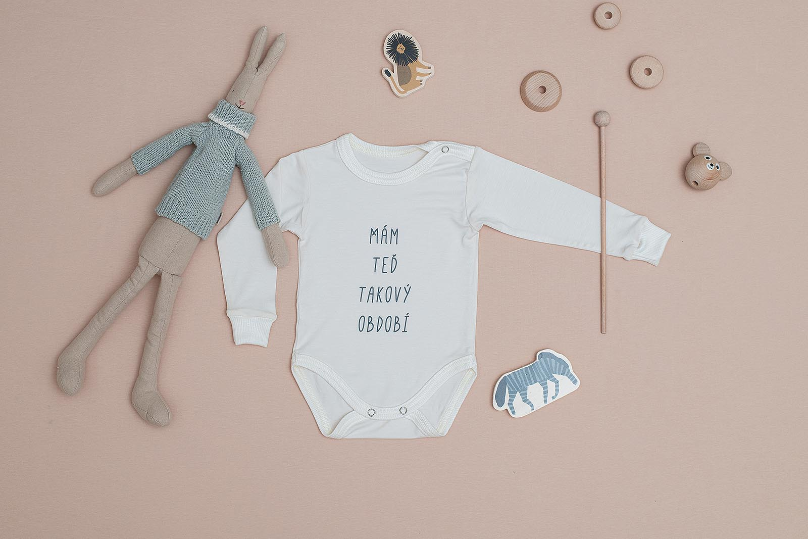 children's outfit Období body off-white