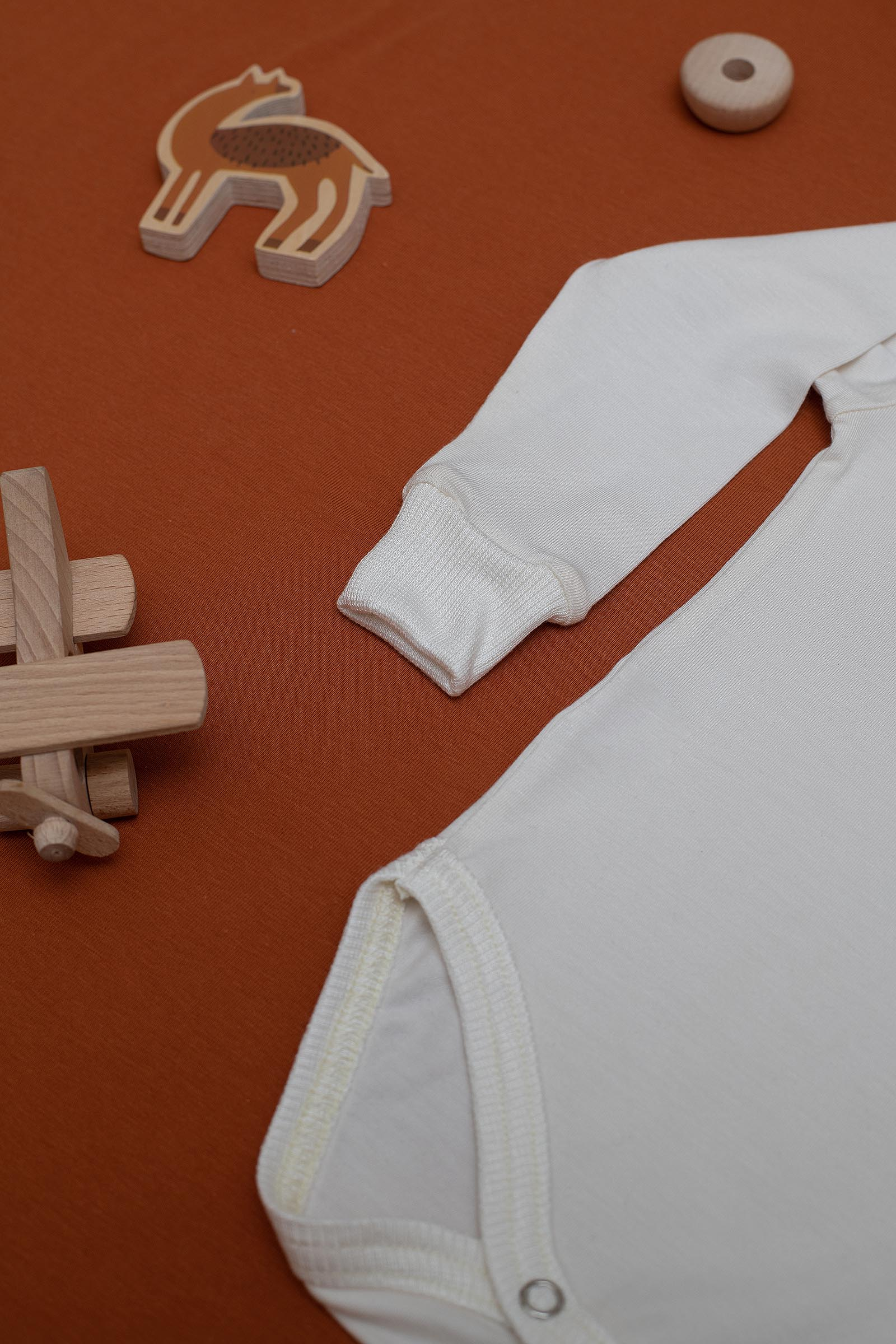 dětské oblečení Kid happens praná bílá