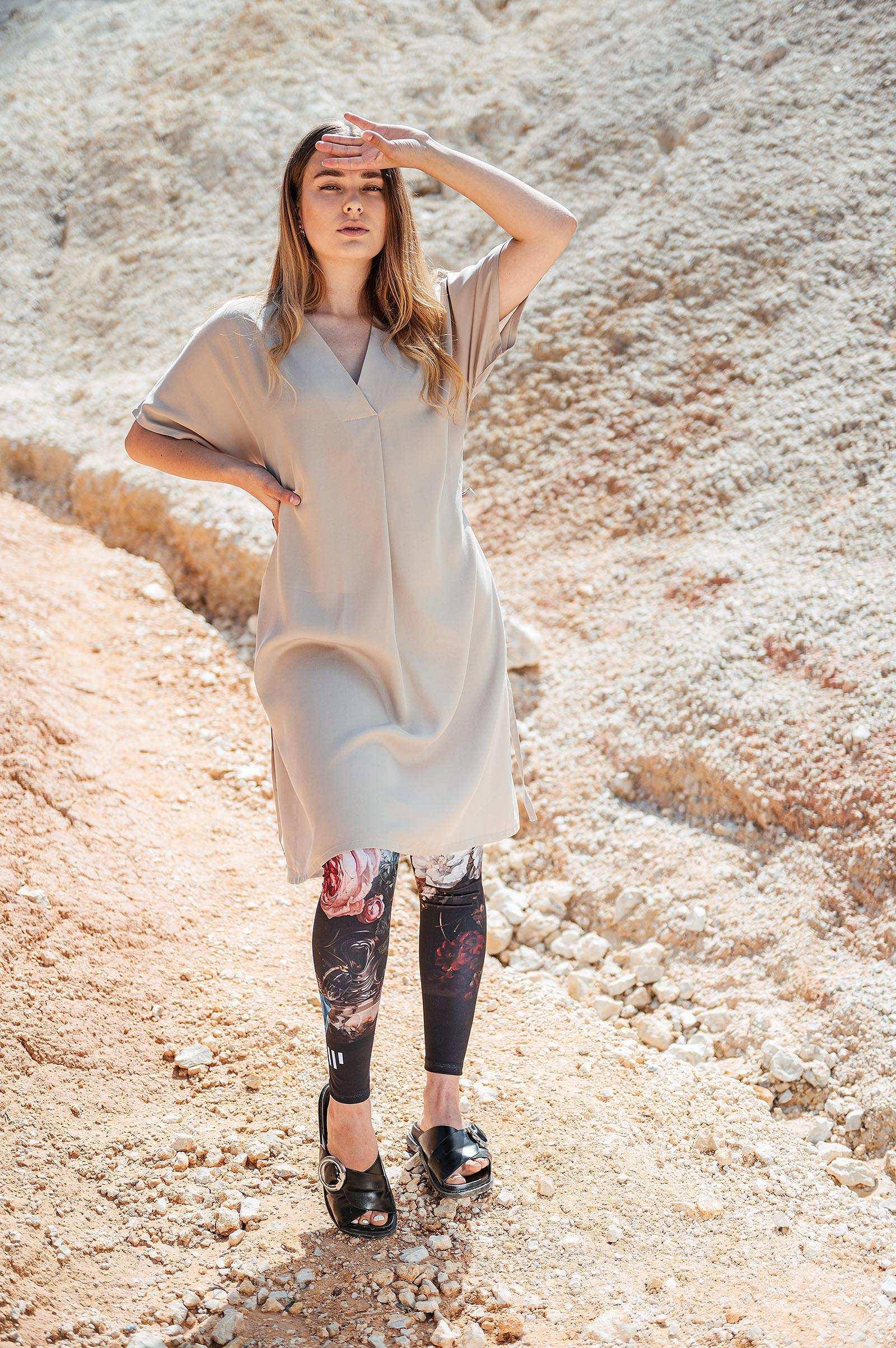 Šaty a sukně Anika pearl