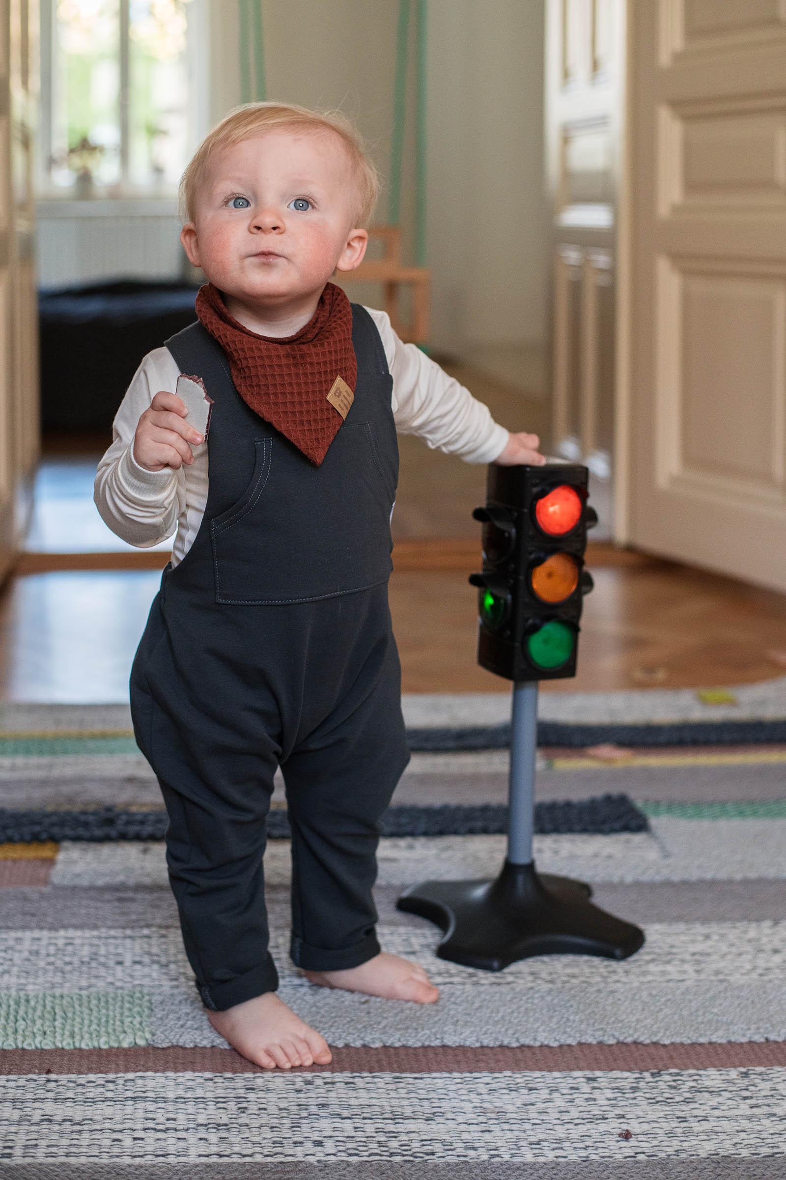 children's outfit Šátek mini brick