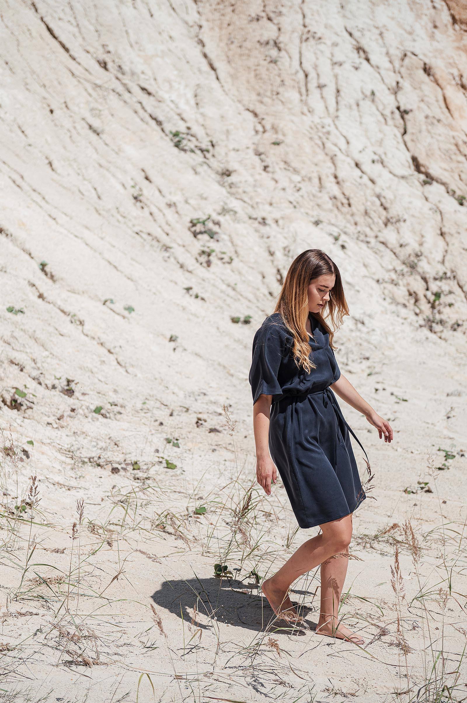 Šaty a sukně Anika midnight blue