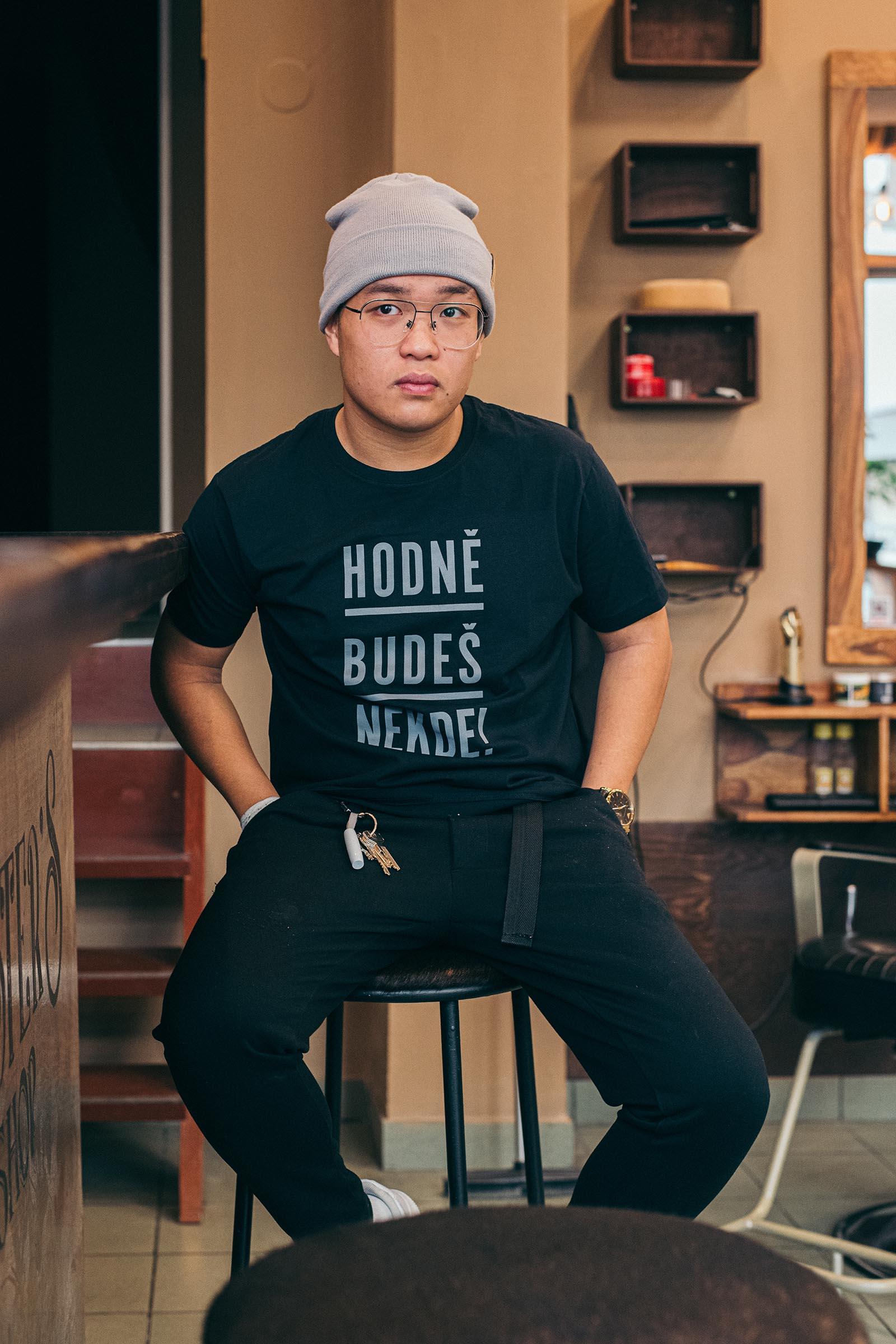 t-shirt Jolanda black