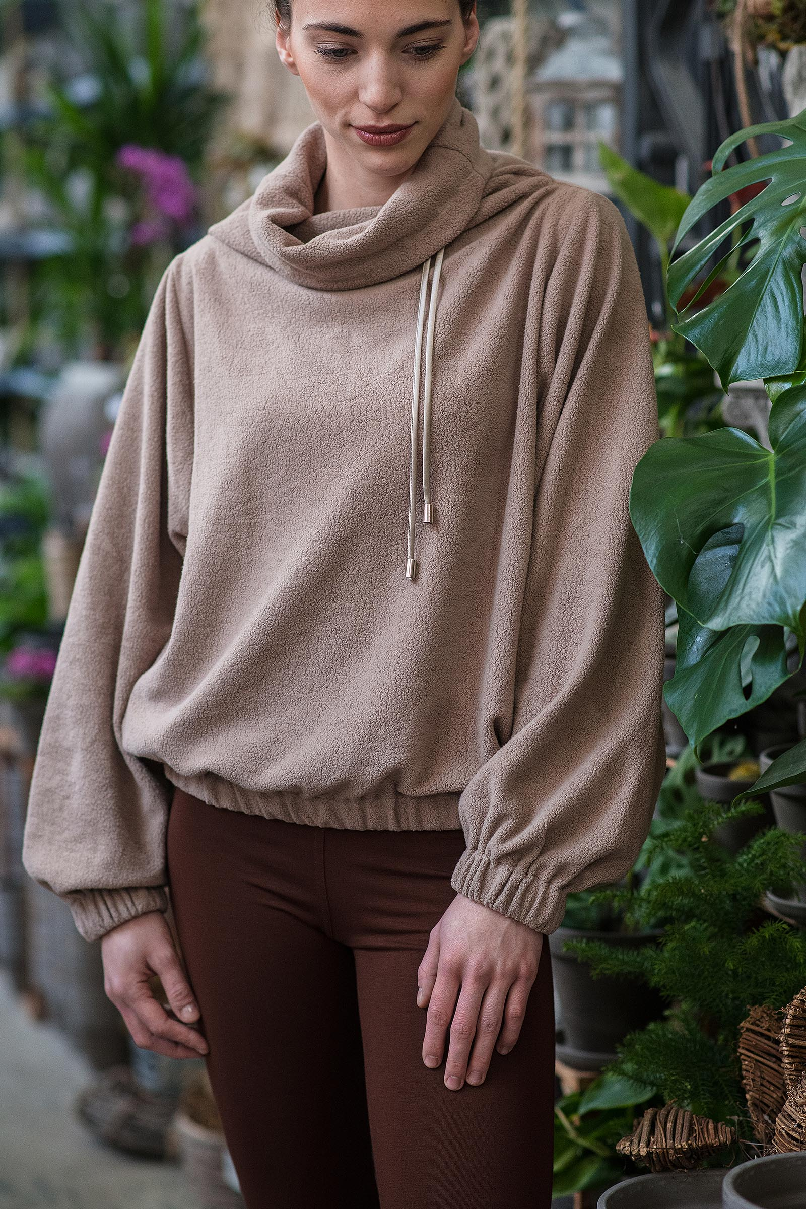 women sweatshirt and sweaters Fluffy termix