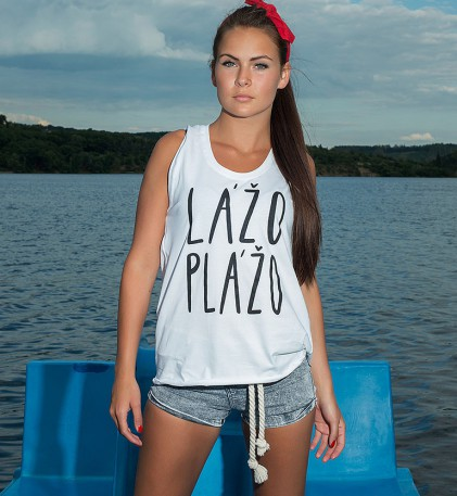t-shirt for women Lazo plazo white/black
