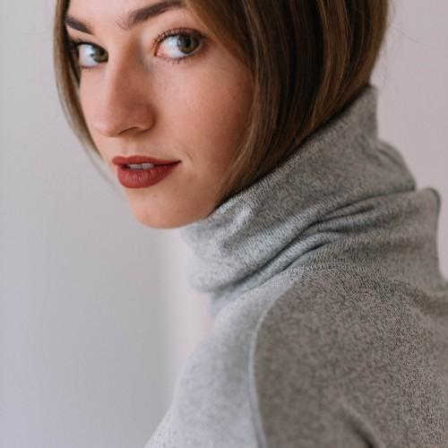 women sweatshirt and sweaters Liva grey
