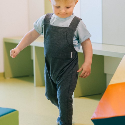 dětské oblečení Grid světle modrá