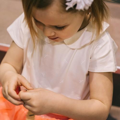 dětské oblečení Sofi krémová