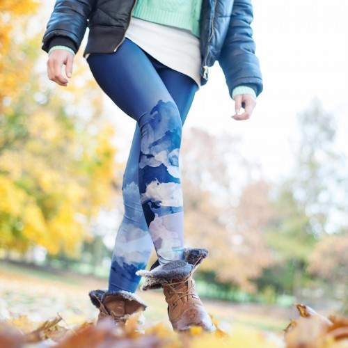 Leggings Pastel Blue