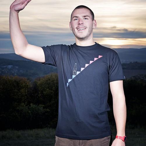 t-shirt for men Beer manual black