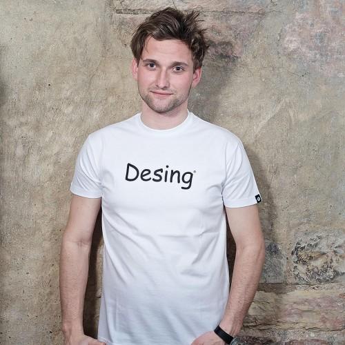 Pánské tričko Desing Bílá