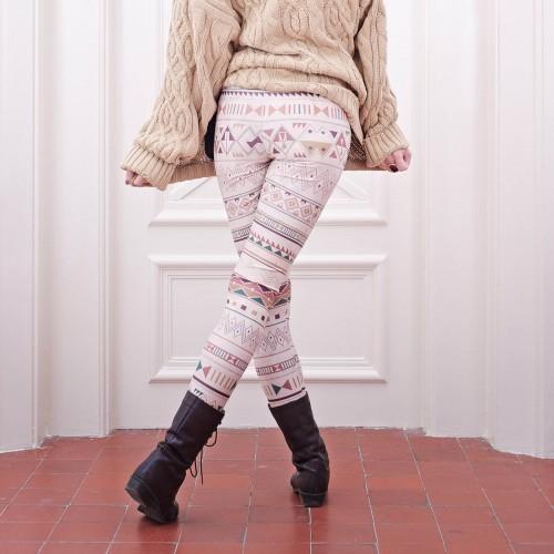 Leggings Rybana Beige