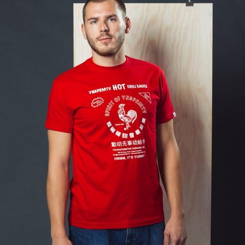 P�nsk� tri�ko Sriracha �erven�