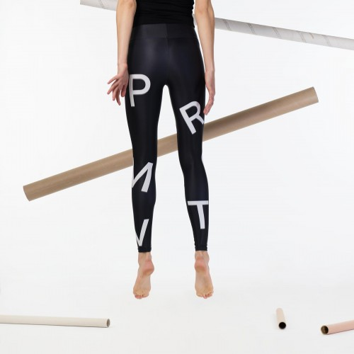 Leggings TYPO black