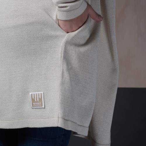 women sweatshirt and sweaters Frida beige