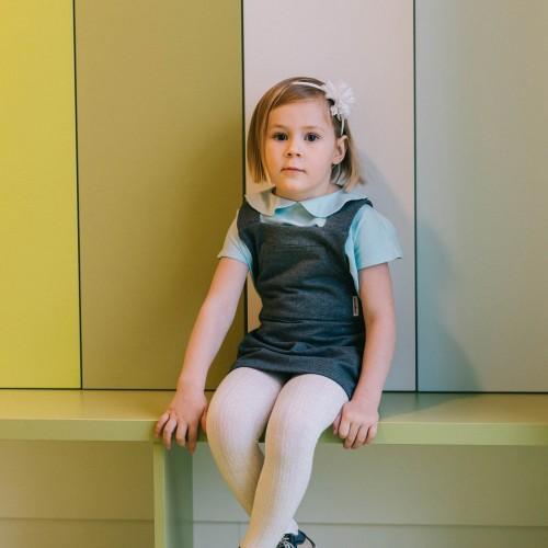 dětské oblečení Lota šedý melír