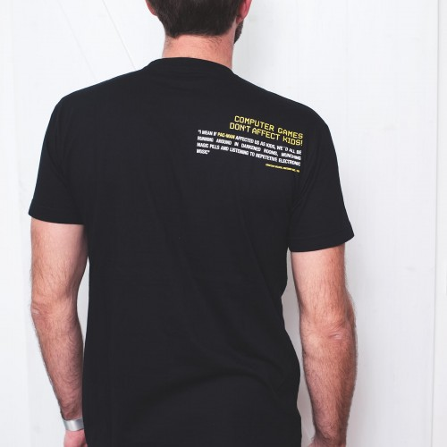 t-shirt for men Pacman Black