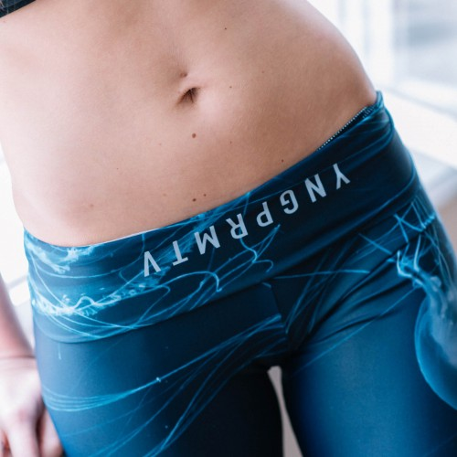 Leggings Jellyfish Deep blue