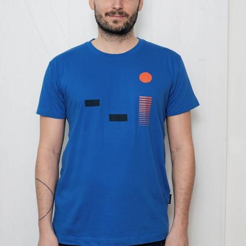 Pánské tričko Monet modrá