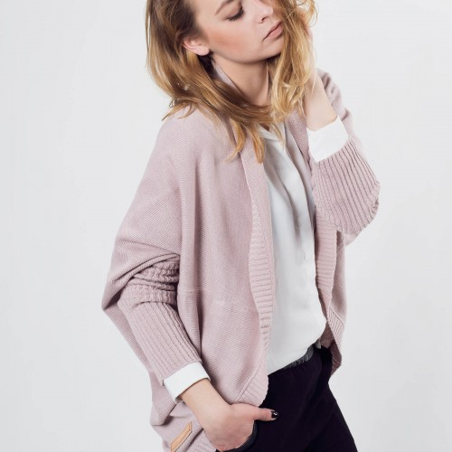 women sweatshirt and sweaters Gaia powder pink