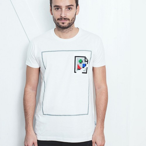 t-shirt for men Picture not found white