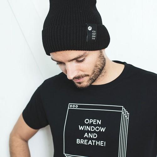 t-shirt for men Windows black