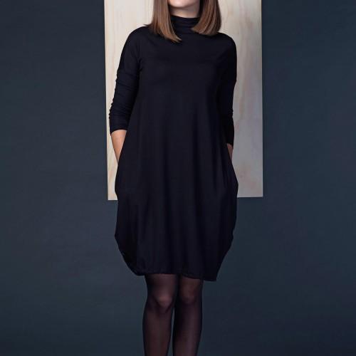 šaty a sukně Vilma černá