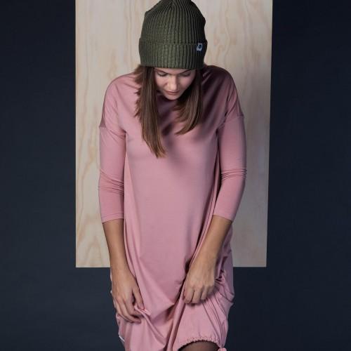 šaty a sukně Vilma pudrově růžová