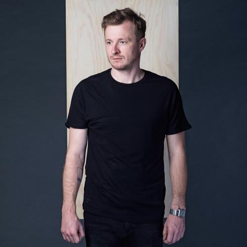 Pánské tričko Gott černá