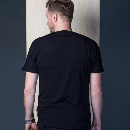 t-shirt for men Gott black