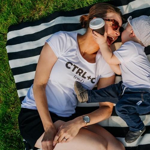 Dámské tričko Ctrl+cw bílá
