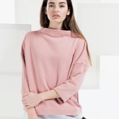 women sweatshirt and sweaters Berta powder pink