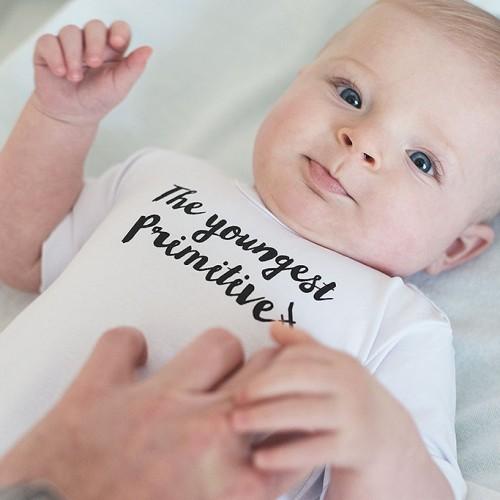 dětské oblečení Youngest bílá