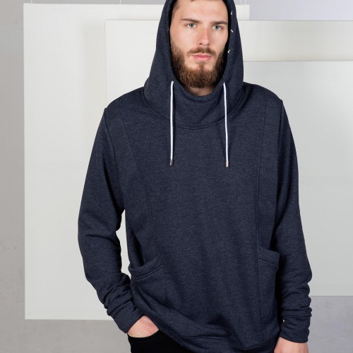 men sweatshirt Edward Blue