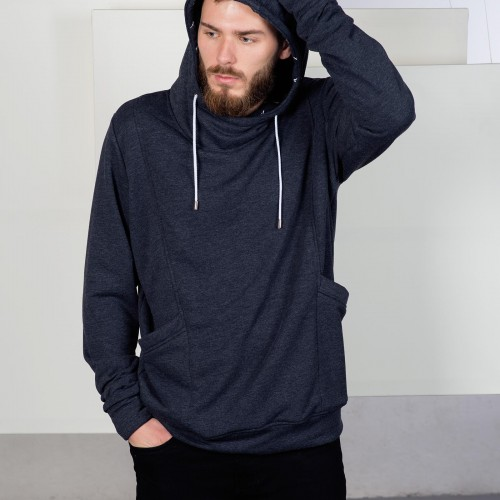 men sweatshirt Edward Blue
