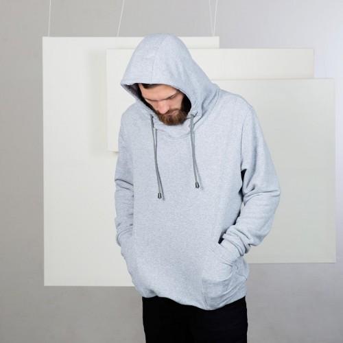 men sweatshirt Edward Grey heather