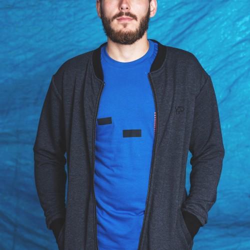 pánská mikina Oliver tmavě modrá