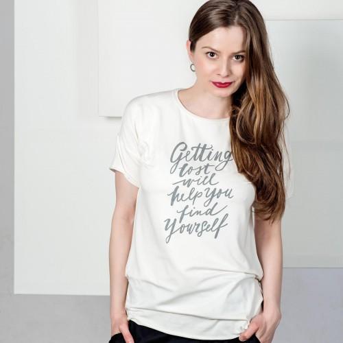 Dámské tričko LOST béžová
