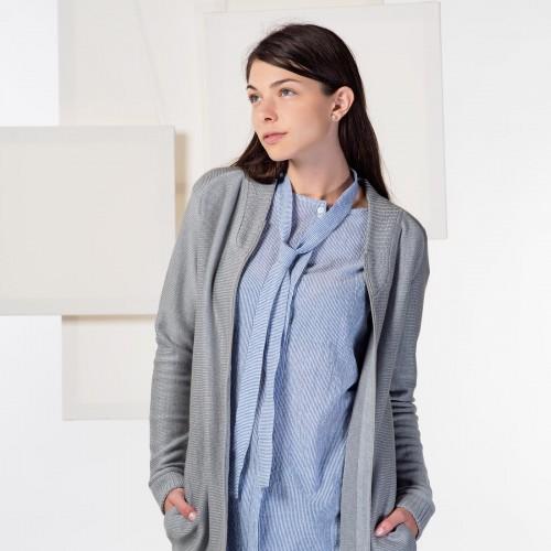 women sweatshirt and sweaters Jonna silver grey