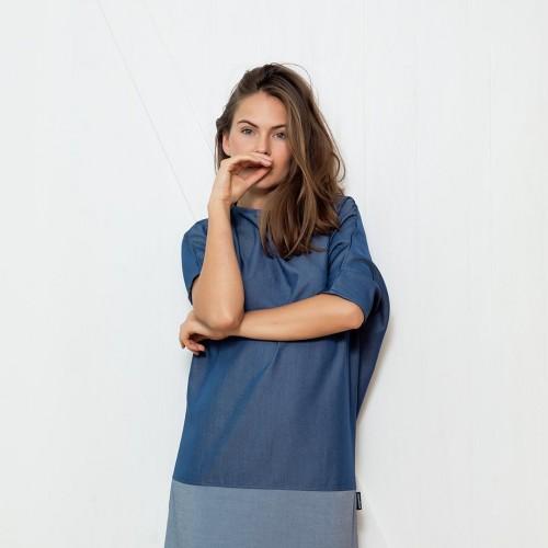 šaty a sukně Nina modrá