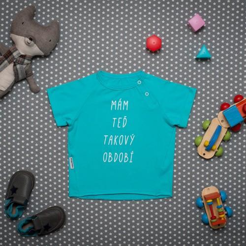 dětské oblečení Období modrá