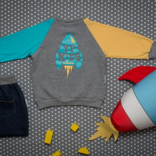 children's outfit Apollo grey