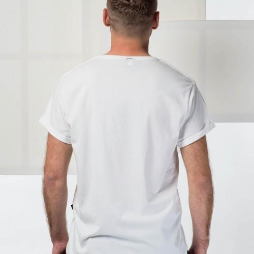 Pánské tričko Solar system bílá