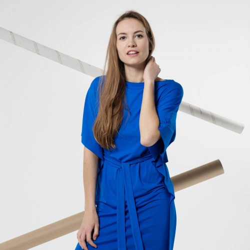 šaty a sukně Ellin modrá