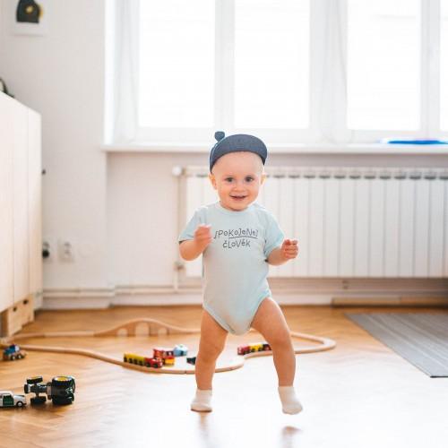 dětské oblečení Kojenec mintová