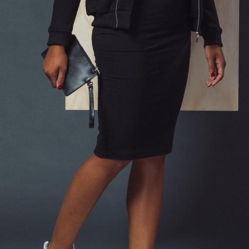 šaty a sukně BEA černá