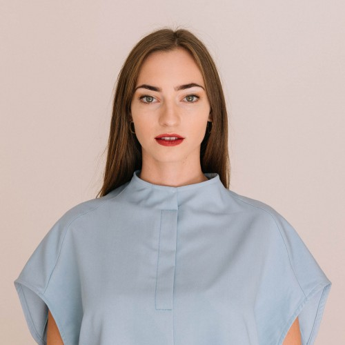 t-shirt for women Krista light blue