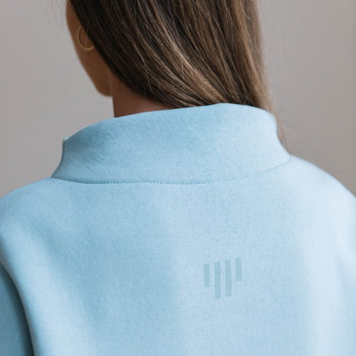 women sweatshirt and sweaters Berta light blue