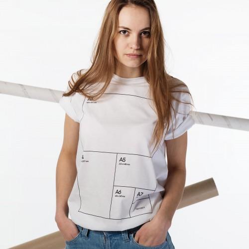t-shirt for women Format white