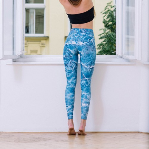 Leggings Pool blue